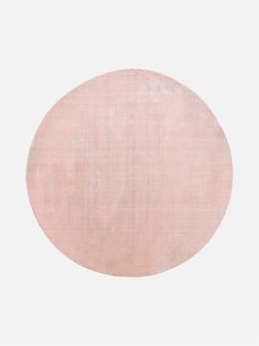 Silky Rosa 200 cm rund