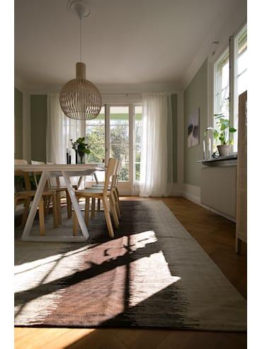 Kelim Raw Beige/Brun 280x345 cm