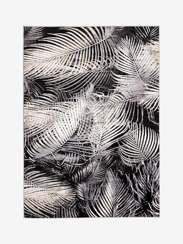 Palm Svart 170x240 cm
