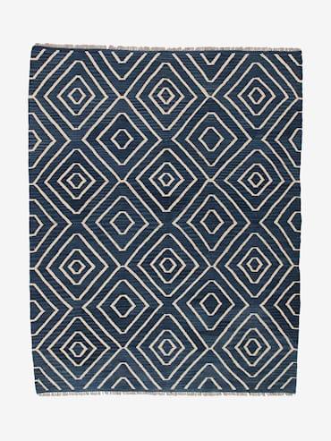 Kelim Blå 162x206 cm