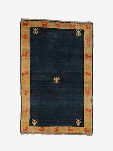 Persian Gabbeh Blå 100x152 cm