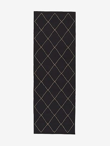 Crystal Mörkgrå 70x200 cm