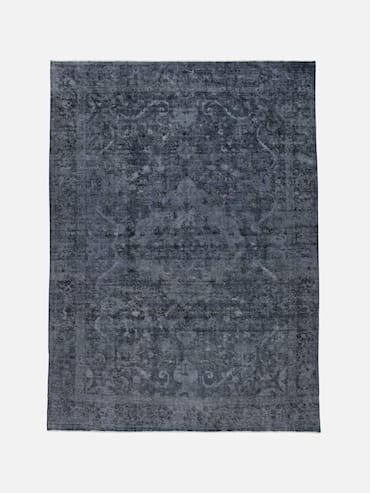Decolorized Blå 278x382 cm