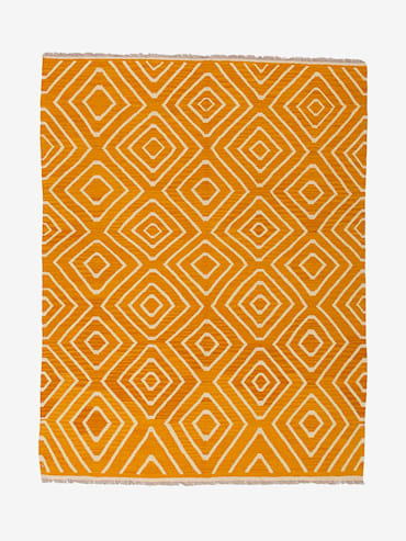Kelim Orange 145x205 cm