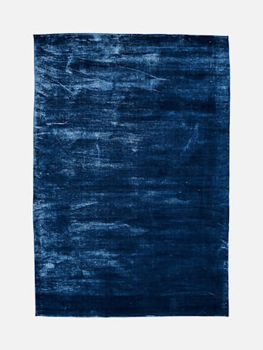 Silky Mörkblå 160x230 cm