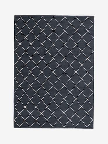 Crystal Mörkblå 160x230 cm