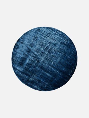 Silky Mörkblå 200 cm rund