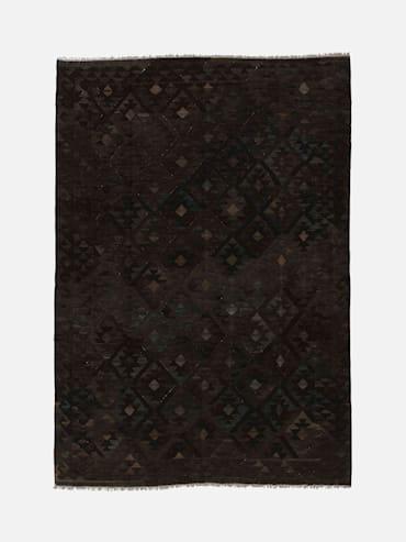 Kelim Raw Svart 214x295 cm