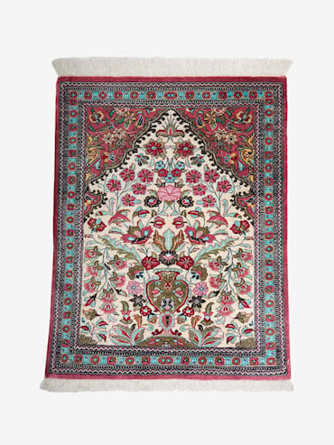 Ghom Silk Multi 57x72 cm