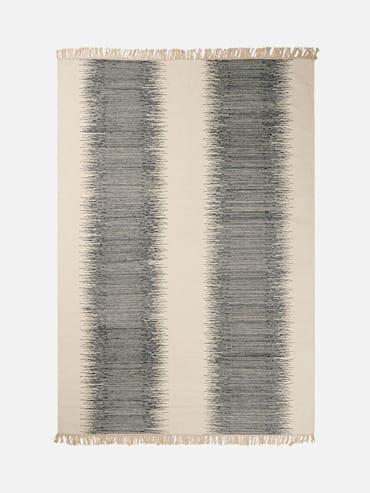 Kelim Gina Svart 200x290 cm