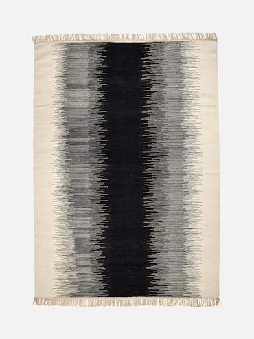 Kelim Divya Svart 300x400 cm