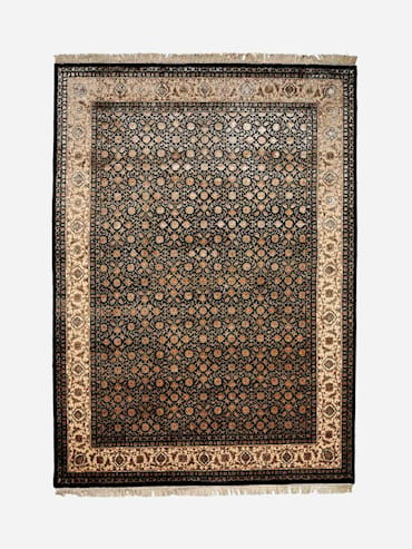 Herati Svart 270x370 cm