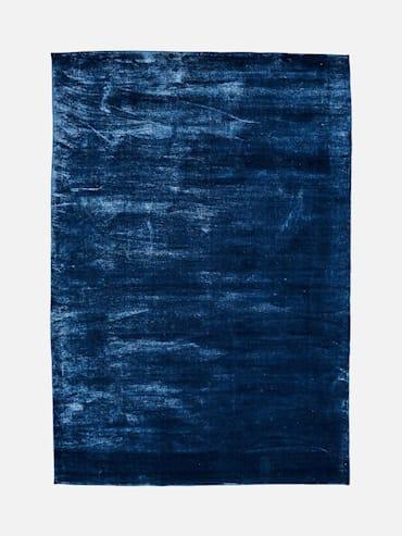 Silky Mörkblå 200x290 cm