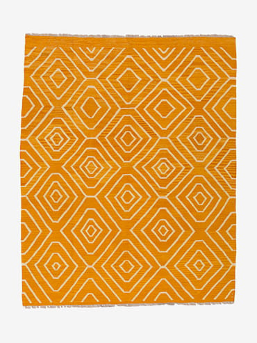 Kelim Orange 140x199 cm